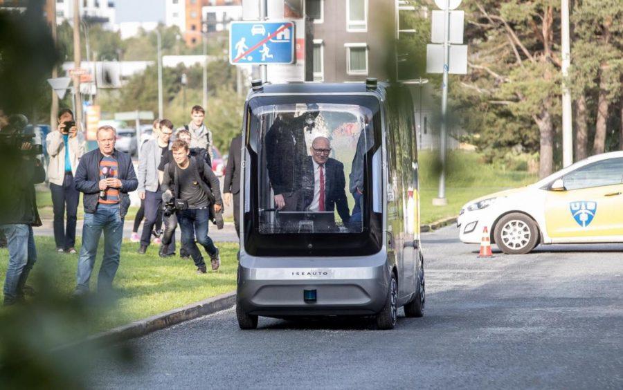 электробус в Таллине
